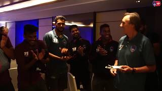Delhi Dynamos F.C. celebrated Head Coach, Miguel Angel Portugal's birthday.