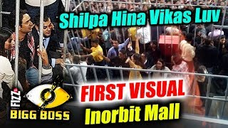 Shilpa, Hina, Vikas, Luv In CAGE | FIRST Picture | BB Mall Task From Inorbit Mall | Bigg Boss 11