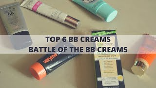 Top 6 BB Creams in India | Battle of the BB Creams | Ponds vs Maybelline Vs Garnier Vs Inveda