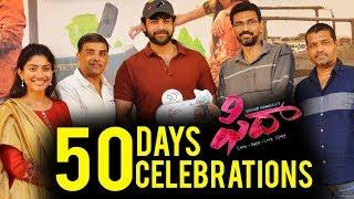 Fidaa 50 Days Celebrations Varun Tej, Sai Pallavi Sekhar Kammula