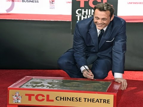 Vince Vaughn Gets Cemented in Hollywood News Video