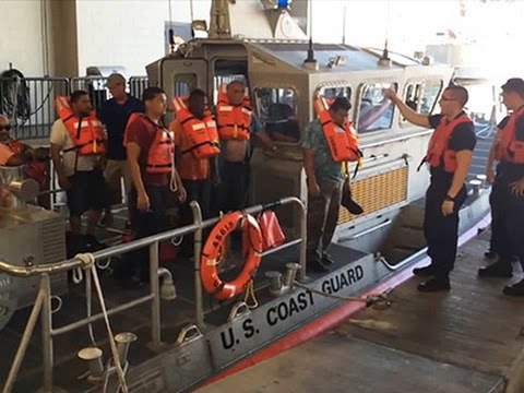 Raw- US Coast Guard Rescues 11 Off Oahu News Video