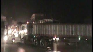ट्रैफिक पुलिस की दबंगई, 100 रुपए न देने पर ट्रक चालक की नाक और दांत तोड़े
