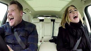 Adele & James Corden Belt 'Hello' In New Carpool Karaoke Teaser