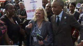 Rev. Sharpton Leads Protest for Oscar Diversity News Video