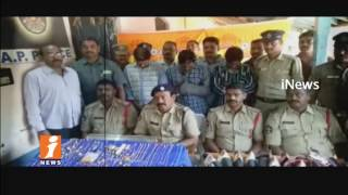 Police Arrests Gold Thieves Gang In Razole | East Godavari  | iNews