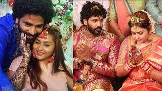 Namitha Marriage Pics | Heroine Namitha got married | Telugu Celebrity News | Daily Poster