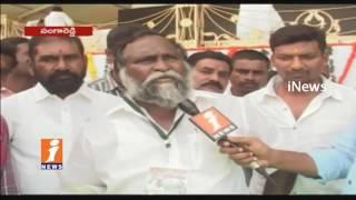 Cong Leader Jagga Reddy Face To Face Over Cong Praja Garjana Public Meeting In Sangareddy | iNews