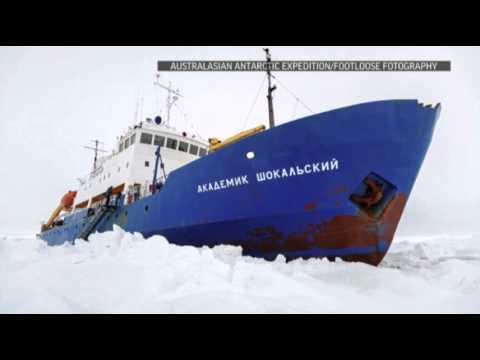 Spirits High Despite Rescue Snag in Antarctica News Video