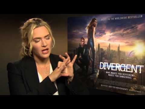 Winslet on Shooting 'Divergent' Whilst Pregnant News Video