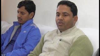 आश्रय शर्मा के समर्थन में आए युवा कांग्रेस के पूर्व प्रदेश महामंत्री