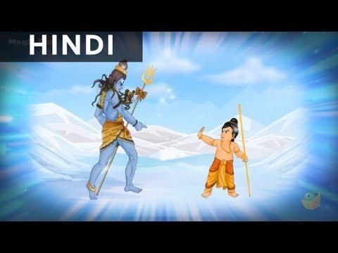 Birth Of Ganesha - Ganesha In Hindi - Animated / Cartoon Stories For Children