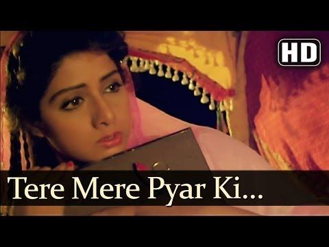 Tere Mere Pyar Ki Kahaniya (HD) - Banjaran Songs - Rishi Kapoor - Sridevi - Anuradha Paudwal - Superhit Old Song