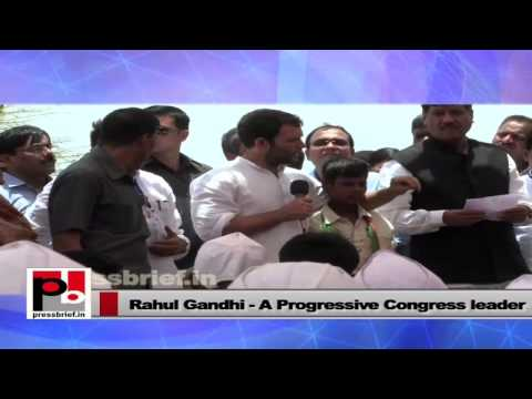 """Rahul Gandhi- """"Every one of you should have an identity"""""""