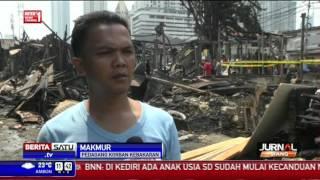 Warga Korban Kebakaran Selamatkan Barang Berharga