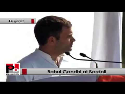 Rahul Gandhi- Gujarat government is run by the rich and for the rich