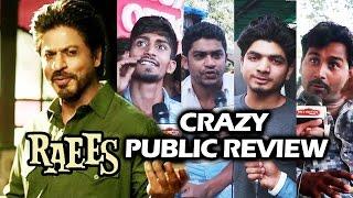 RAEES - 2nd DAY PUBLIC REVIEW - CRAZY RAEES FANS - Shahrukh Khan, Nawazuddin, Mahira