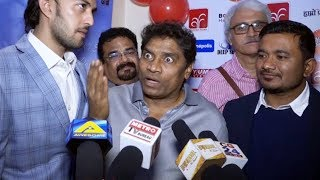 Johnny lever Appreciates Masoom Singh Work In Back to Dad