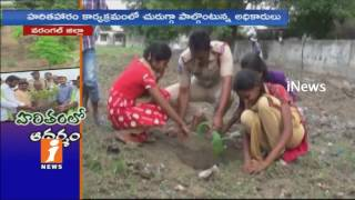 Special Focus On Haritha Haram Program In Warangal | iNews