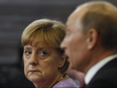Cold War past shapes complex Merkel Putin relationship! News Video