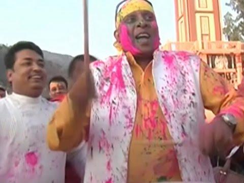 Raw- India Celebrates Hindu Festival of Colors News Video