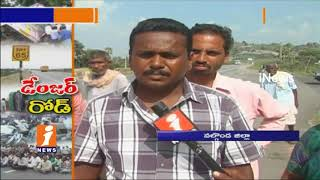 Hyderabad To Vijayawada National Highway Turns Accident Spot | People Fear To Travel | iNews