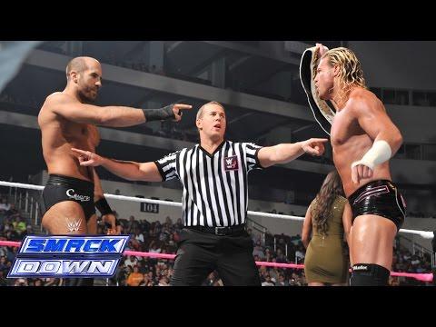 Dolph Ziggler vs. Cesaro - Intercontinental Championship Match- SmackDown, Oct. 24, 2014 - WWE Wrestling Video