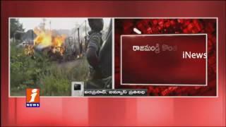 Fire Accident at Konthamuru Jangala Colony | Rajahmundry | 70 Huts Brunt | iNews