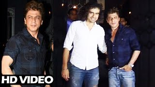 Shahrukh Khan And Imtiaz Ali SPOTTED At Late Night Party - Jab Harry Met Sejal