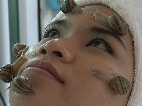 Slimey Snail Therapy Slides Into Thailand Spas News Video