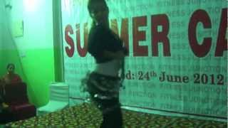 BELLY Dancing by little girl | western dance academy