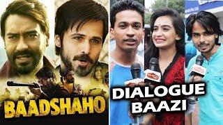 Baadshaho - Public Ki Toofan Dialogue Baazi - Ajay Devgn, Emraan Hashmi, Esha Gupta, Ileana D'Cruz