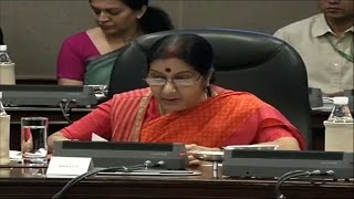 India will hold 8th BRICS Summit from October 15 to 16, 2016 in Goa - Sushma Swaraj News Video