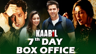 Hrithik's KAABIL - 7th DAY BOX OFFICE COLLECTION - STRONG GROWTH
