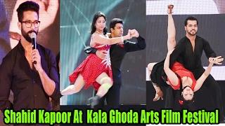 Shahid Kapoor Inaugurated The Kala Ghoda Arts Film Festival