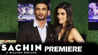 Kriti Sanon & Sushant Singh Rajput At Sachin A Billion Dreams GRAND PREMIERE