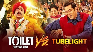Akshay's Toilet Ek Prem Katha Target To Cross 200 Crore, Toilet Ek Prem Katha Set To BEAT Tubelight