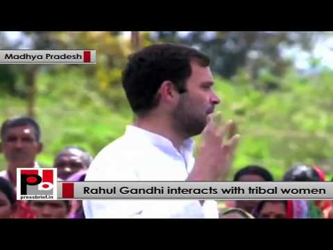 Rahul Gandhi to tribal women - We will implement Right to treatment