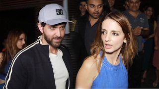 Hrithik Roshan On A DINNER Date With Ex-Wife Sussanne Khan, CELEBRATES Kaabil Success