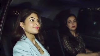 Jacqueline Fernandez At Karan Johar's Bash In Honour Of Christian Louboutin