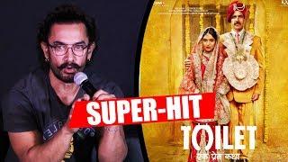 Aamir Khan BEST Reaction On Akshay's Toilet Ek Prem Katha SUPER-HIT