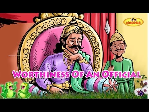 Worthiness of an Official - Moral stories - Animated stories in English