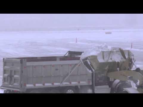 Raw- Late Season Snowstorm Shuts Down DC News Video