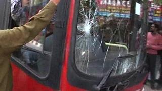 Video - तेज रफ्तार DTC बस ने कई वाहनों को मारी टक्कर