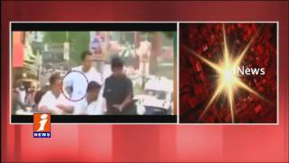 Shoe Thrown At Rahul Gandhi During Sitapur Roadshow | iNews