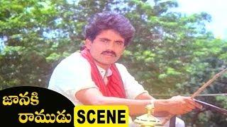 Jeevitha Meet Vijayashanti  About Her Marriage | Fighting Scene Janaki Ramudu Scene