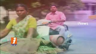 Cooking Gas Cylinder Crisis To People in Hyderabad | Suffering With Lack Of Service | iNews