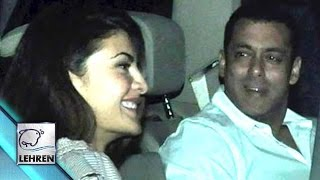 Salman Khan Caught With Jacqueline Fernandez LATE NIGHT!!