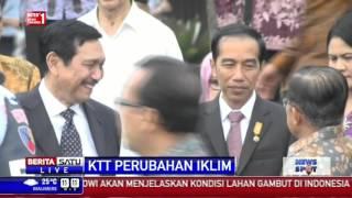Jokowi Bertolak ke Paris Hadiri KTT Perubahan Iklim