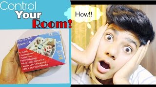 How to control your room lights ,  fan regulator , Socket through your Mobile! l Exclusive Tech!
